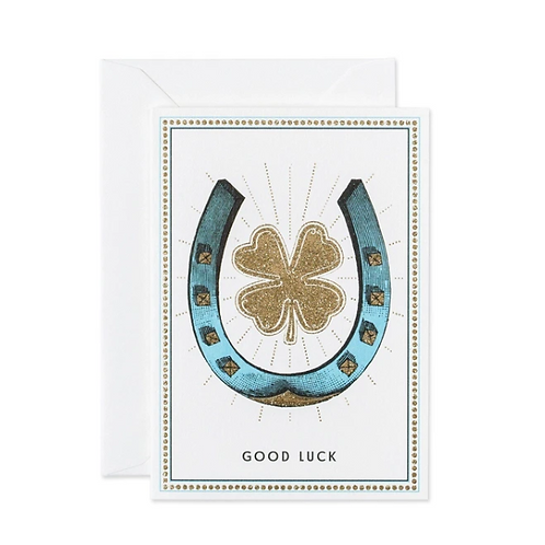 Carte de voeux Good Luck