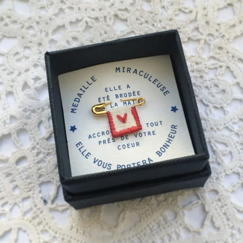 Broche Médaille Miraculeuse