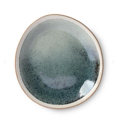 Assiette en céramique '70 - Mist