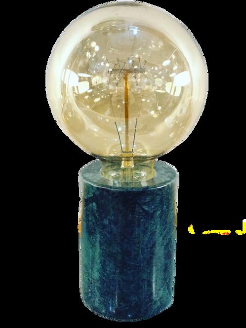 Lampe à poser en marbre vert Athens