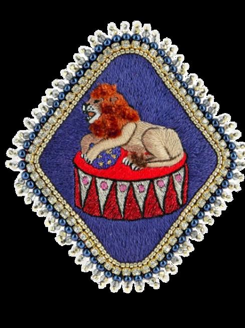 Broche Lion