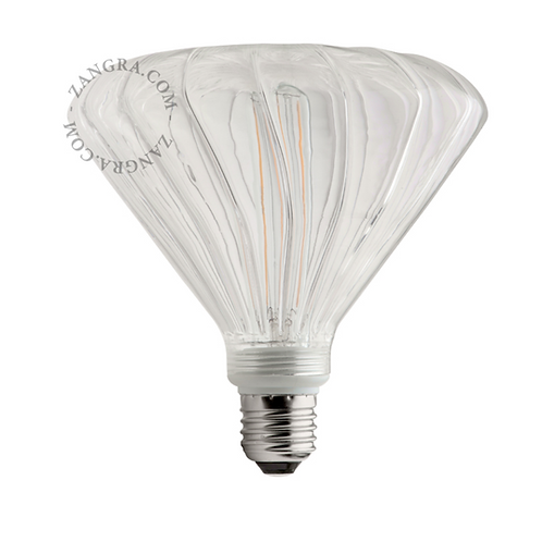 Ampoule LED Filament Mushroom Transparente