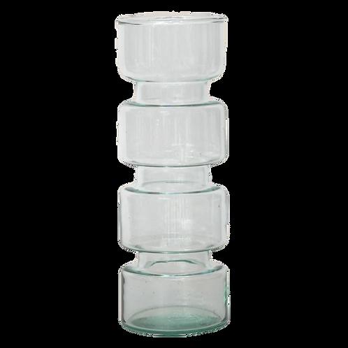Vase en verre recyclé Paloma