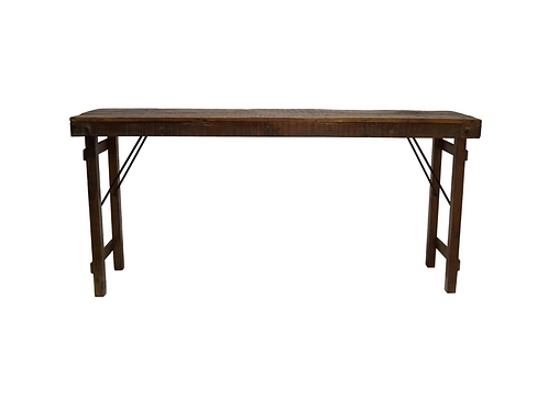Ancienne table console indienne