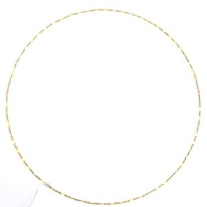 Cercle lumineux leds - 75cm