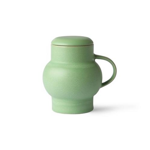 Mug à thé avec couvercle - Mint