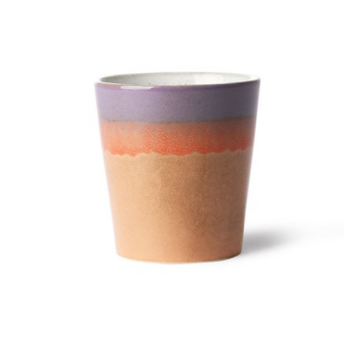 Mug en céramique '70 - Sunset