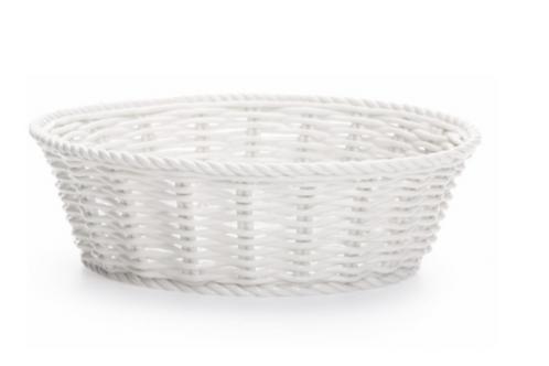 Corbeille à pain en porcelaine