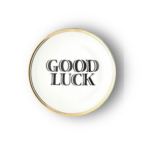 Assiette Good Luck