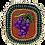Thumbnail: Broche Grappe de raisin