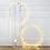 Thumbnail: Cercle lumineux leds - 75cm
