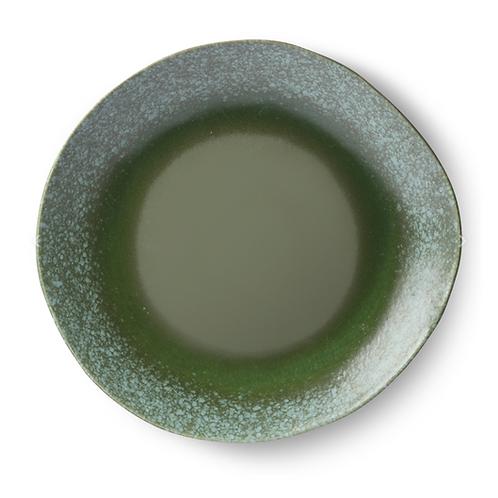 Assiette à dîner en céramique '70 - Green