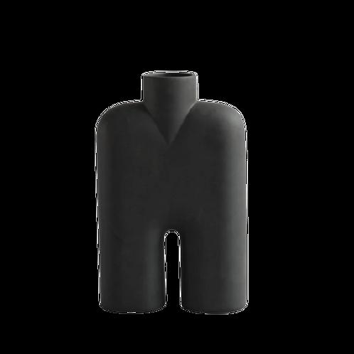 Vase Cobra Tall Medio - Noir