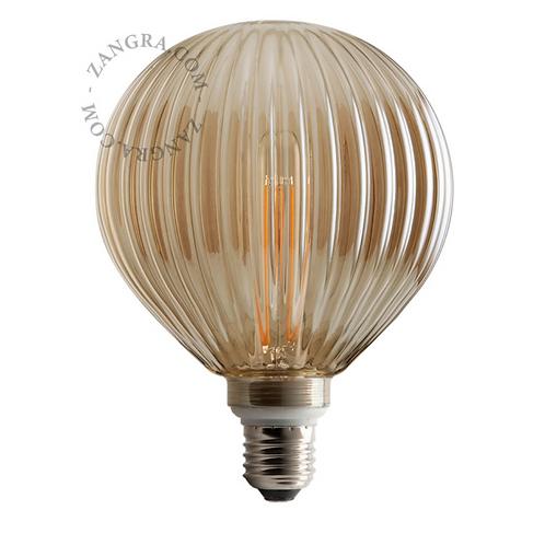 Ampoule LED Filament Lines Fumé