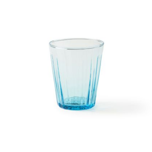 Verre à cocktail Bleu ciel