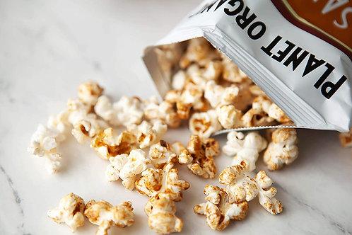 planet organic salted caramel popcorn