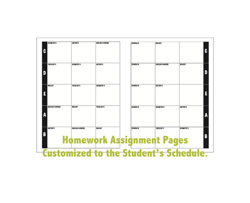 quotes choose a quote supply your own or leave blank calendar august 2016 august 2017 weekly homework sheets 44 weeks choose either block
