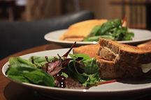 Panini, sandwich and salad, toastie, food, homemade