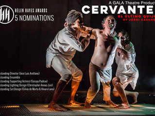 José Luis Arellano obtiene 5 nominaciones a los Premios Helen Hayes por 'Cervantes: El último Qu