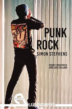 Portada Punk Rock de Simon Stephens