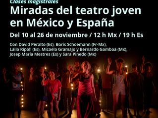 Miradas del teatro joven en México y España