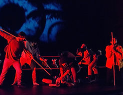 Odisea red theatre odyssey sticks youth