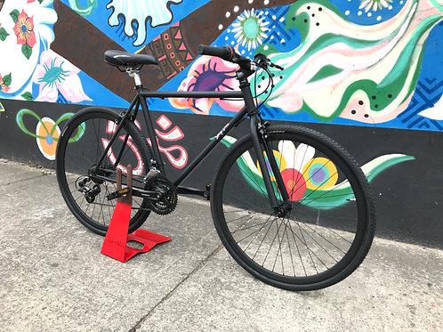 Bicicicleta fixed con cambios