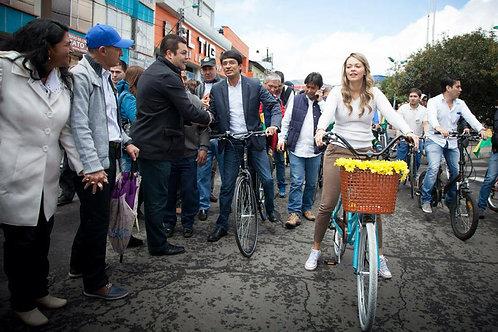 BIcicletas campaña Camilo Gobernador de Nariño