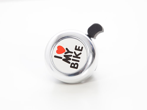"Timbre ""I love my bike"""