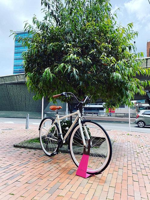 Bicicleta Fixed con cambios urbana