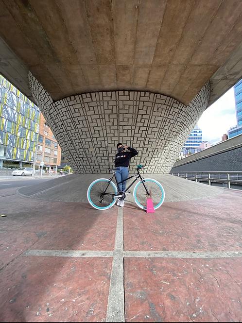 Bicicleta Fixed urbana