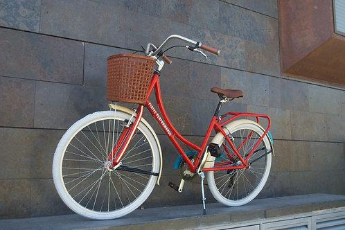 Bicicleta clásica barra caída