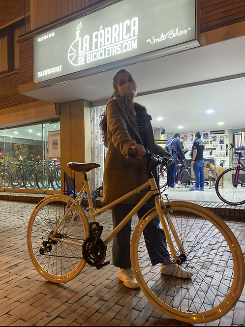 Biciclera fixed personalizada urbana