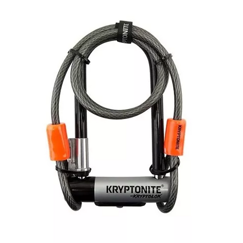 Candado Bicicleta Kryptonite Kryptolok Mini 7 con Guaya