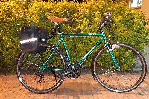 Bicicleta urbana para travesía