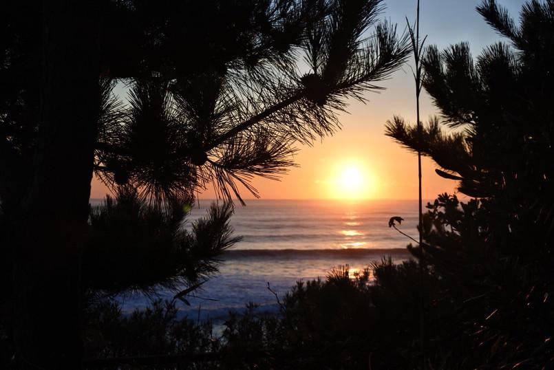 sunrise in Hitachi