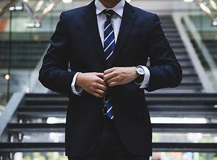 İş takım elbiseli adamı