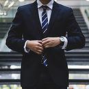 Homme d'affaires en costume