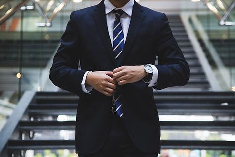 Geschäftsmann im Anzug
