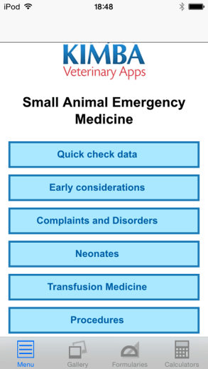 A Handy Small Animal Emergency App