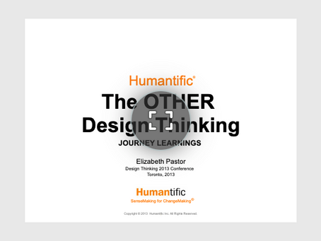 The OTHER Design Thinking