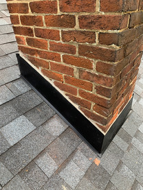 Custom chimney flashing in Hellertown PA
