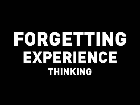 Experience Design Thinking