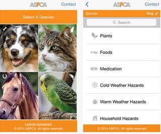 ASPCA Poison Control App