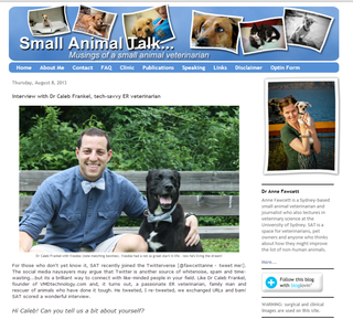 VMD Tech's Interview on Small Animal Talk