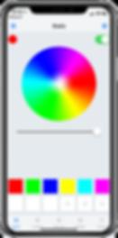Gemstone Lights app - Static Lights Settings