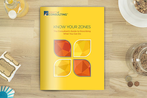 Craft of Consulting Ebook - Know Your Zones