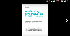 Accelerating Civic Innovation