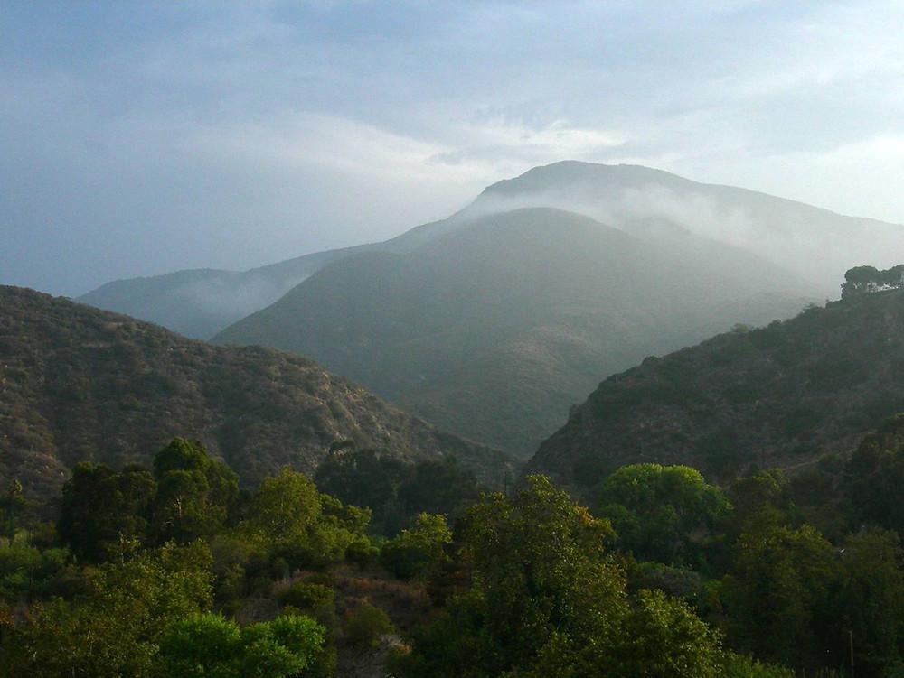 Topanga Canyon Mountain View