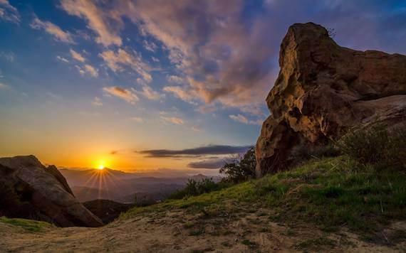 Topanga Canyon Sunset